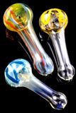 Small Color Changing Frit Glass Pipe - P2068