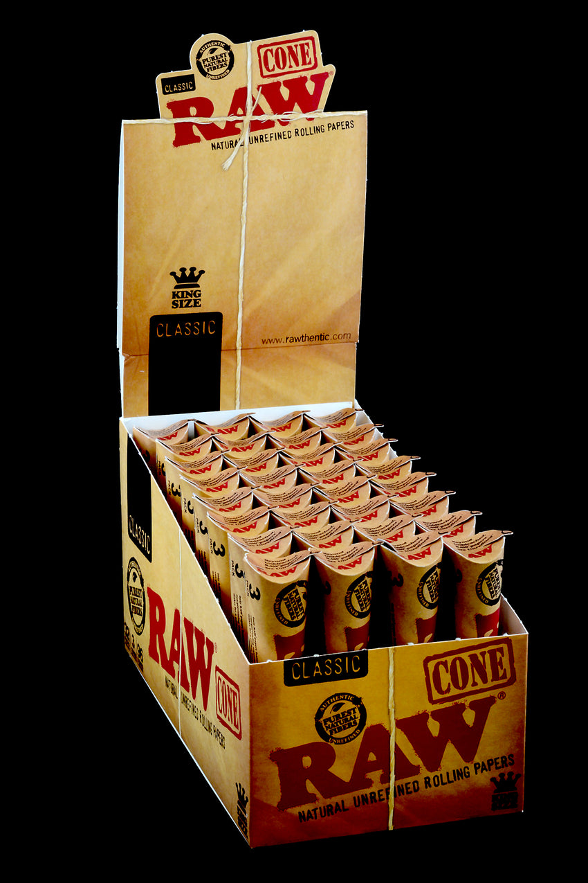 Raw Rolling Paper Cones King Size - RP148