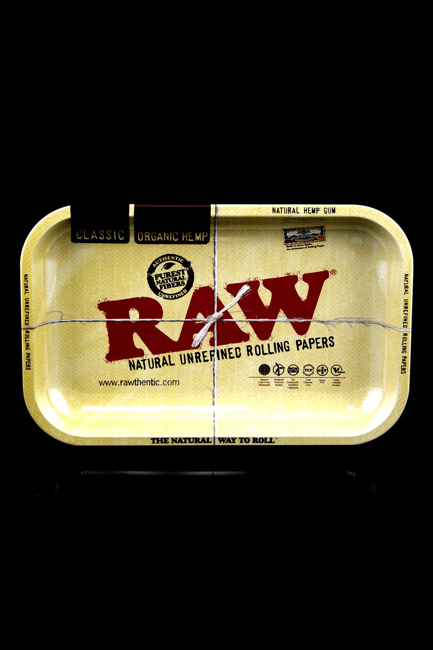 Small Metal Raw Rolling Tray - RP154