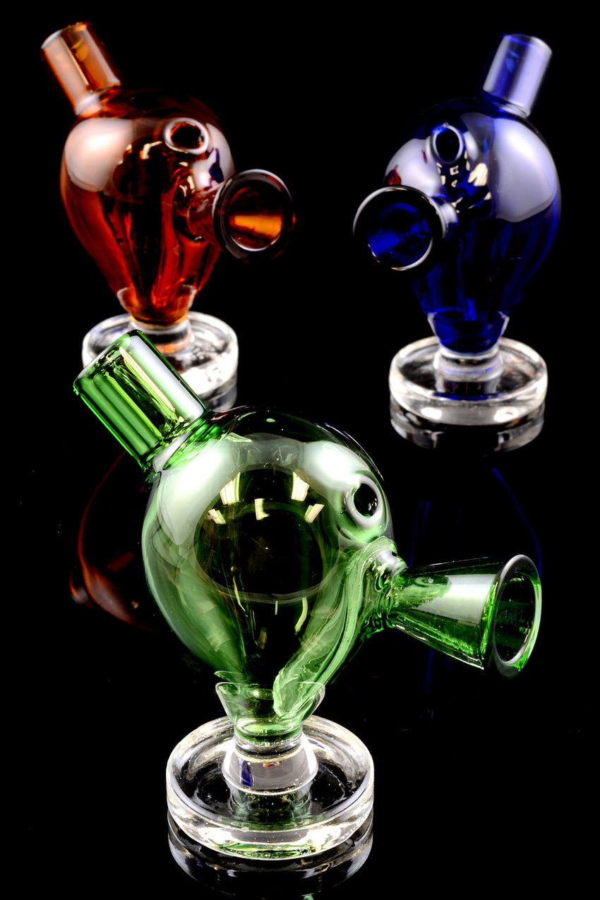 Mini Colored Glass Blunt Bubbler - RP202