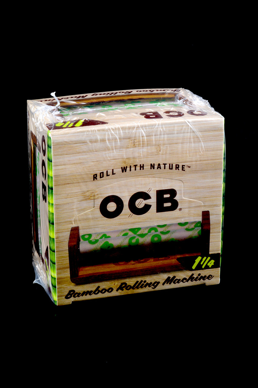 "OCB 1 1/4"" Bamboo Rolling Machines (6 count) - RP211"