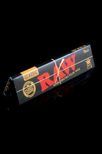 Raw Black King Size Slim Rolling Papers - RP233