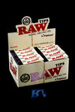 Raw Original Unrefined Tips - RP238