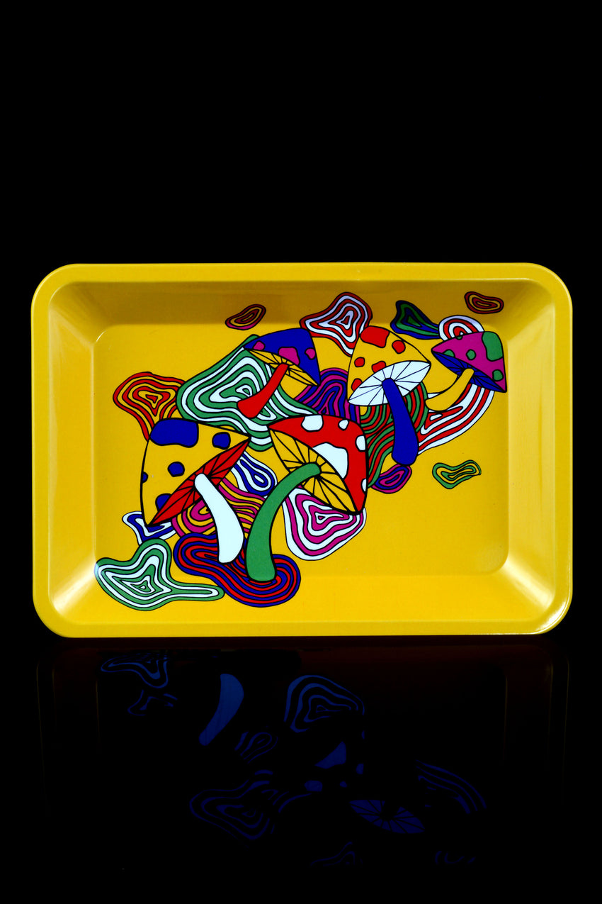 Small Art Metal Rolling Tray - RP266