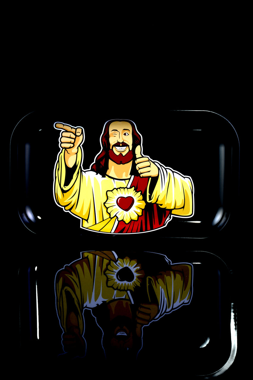 "Jay & Silent Bob ""Buddy Christ"" Metal Rolling Tray - RP274"