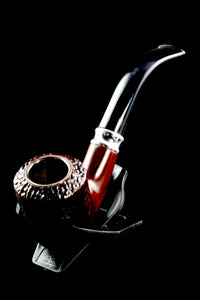 Classic Sandblasted Wood Pipe - W0178