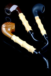 (Mix) Classic Wood and Bamboo Pipe - W0179