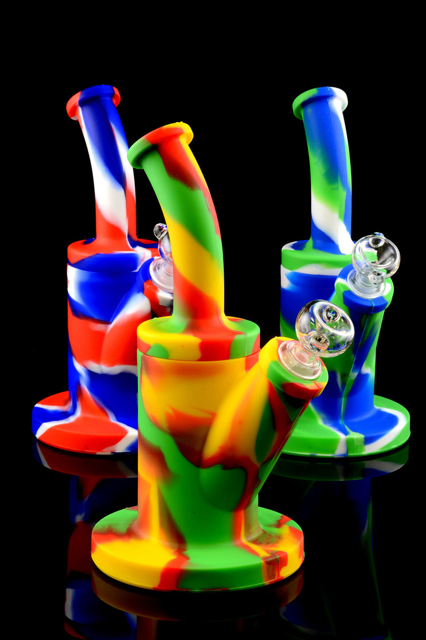 Medium Silicone Water Pipe - WP1037