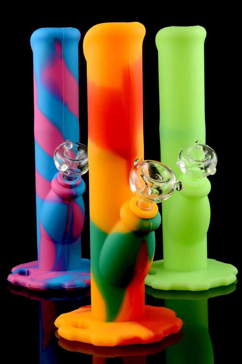 Medium Silicone Water Pipe - WP1087