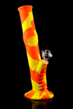 Large Colorful 2 Part Silicone Water Pipe - WP1339
