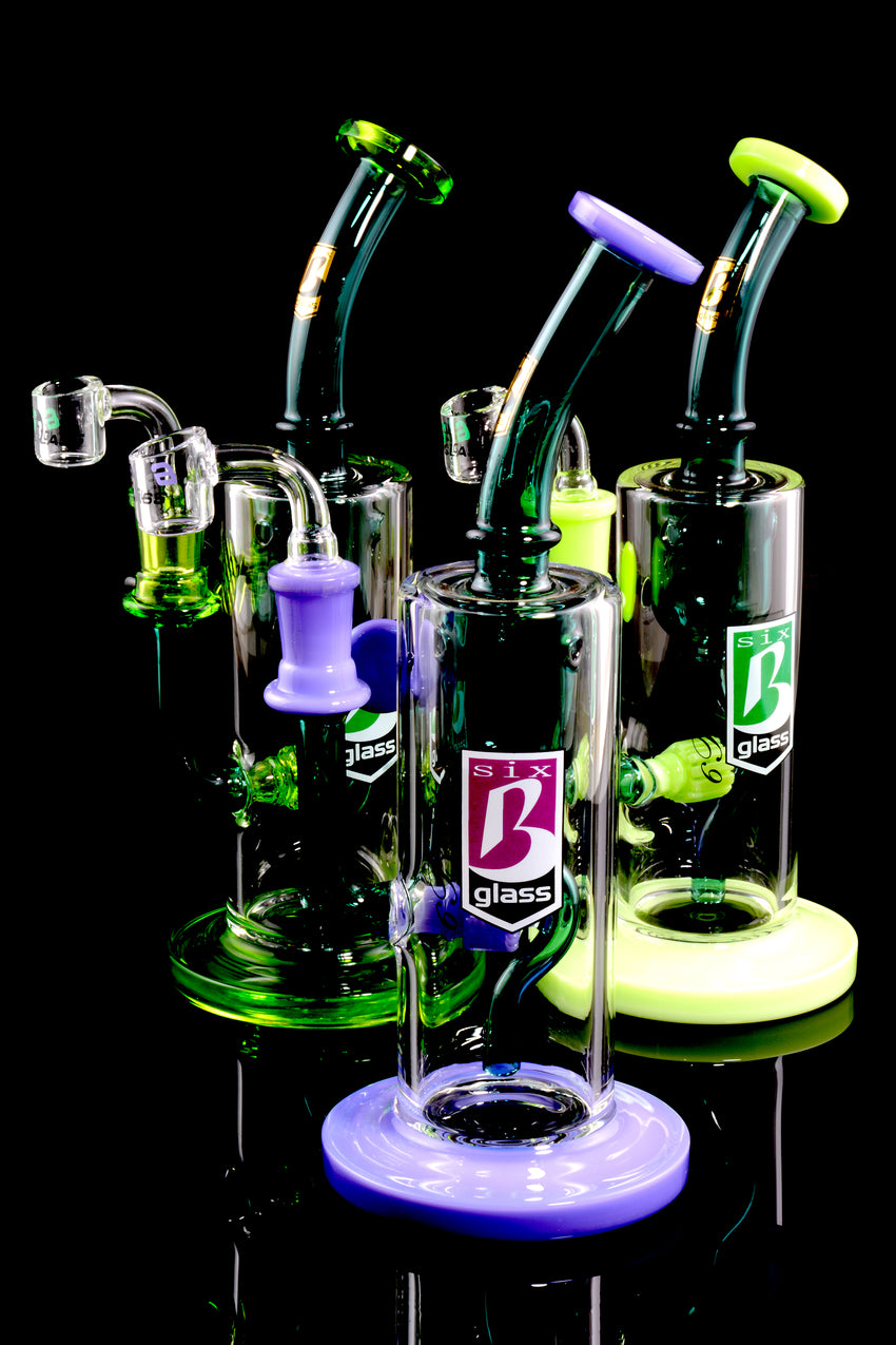 Medium Stemless GoG Dab Rig with Stemline Matric Perc - WP1481