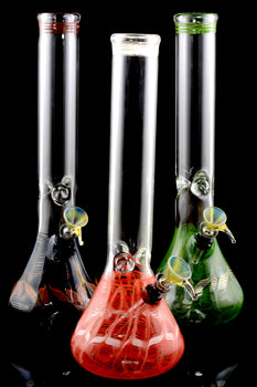 (US Made) Large Colorful Glass Water Pipe - WP1516