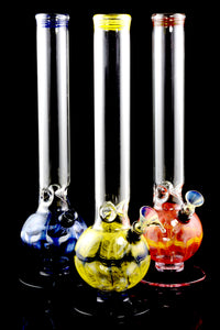 (US Made) Large Colorful Stand Water Pipe - WP1518