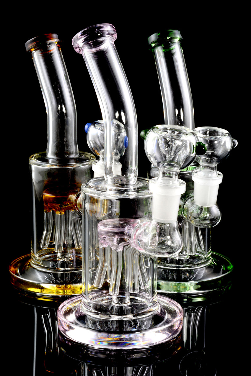 Small Stemless GoG Water Pipe with Stemline Tree Perc - WP1531