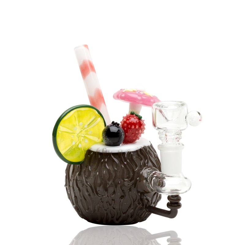 (US Made) Coconut Colada Mini Rig - WP1538