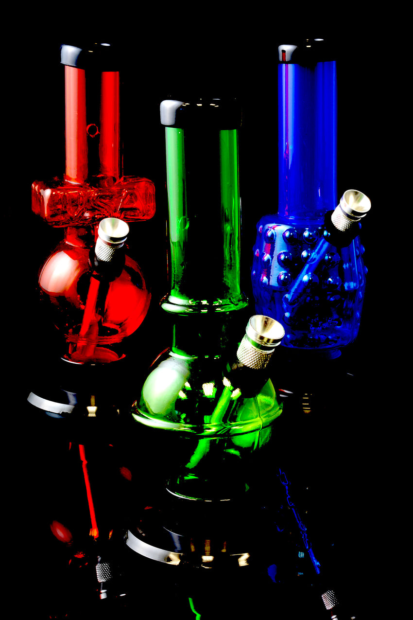 "6"" Mini Acrylic Water Pipe - WP153"