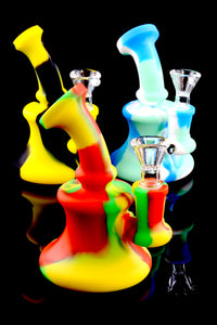 Mini Silicone Bent Neck Water Pipe - WP1547