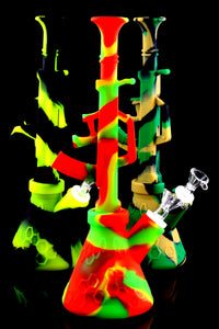 Colorful AK-47 Silicone Water Pipe- WP1549