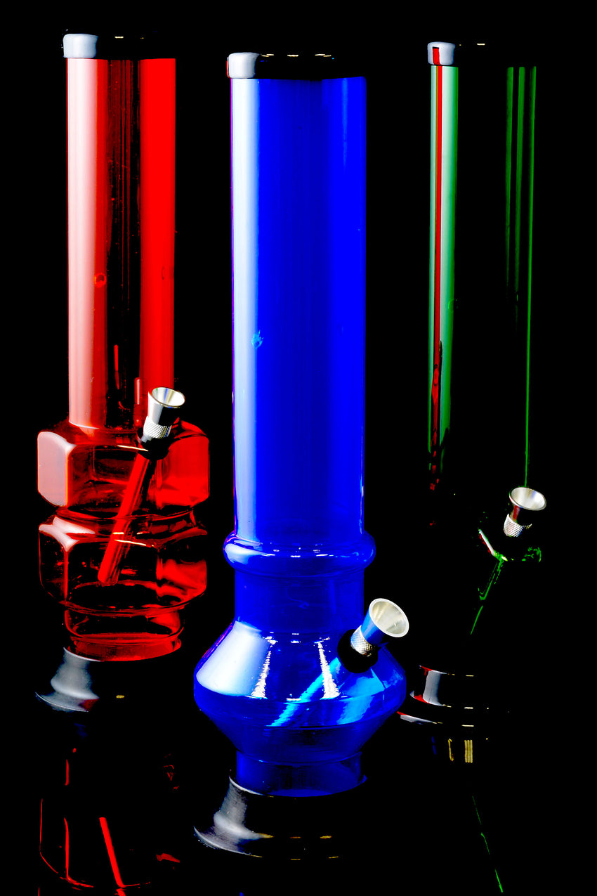 "12"" Large Acrylic Water Pipe - WP155"
