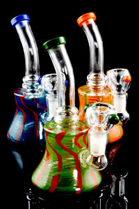 Small Colorful Stemless GoG Water Pipe - WP1580