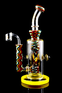 Medium Stemless GoG Reverse Dab Rig - WP1602