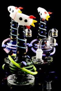 Small Stemless GoG Intergalactic Dab Rig - WP1605