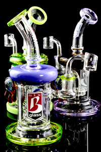 Small Stemless GoG Marble Dab Rig - WP1607