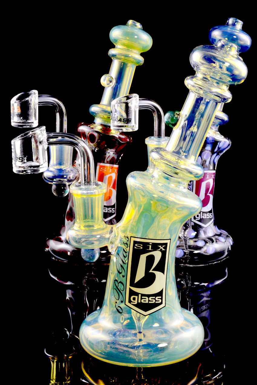 Small Color Changing Stemless GoG Dab Rig - WP1614