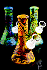 Mini Colorful Silicone Water Pipe - WP1691
