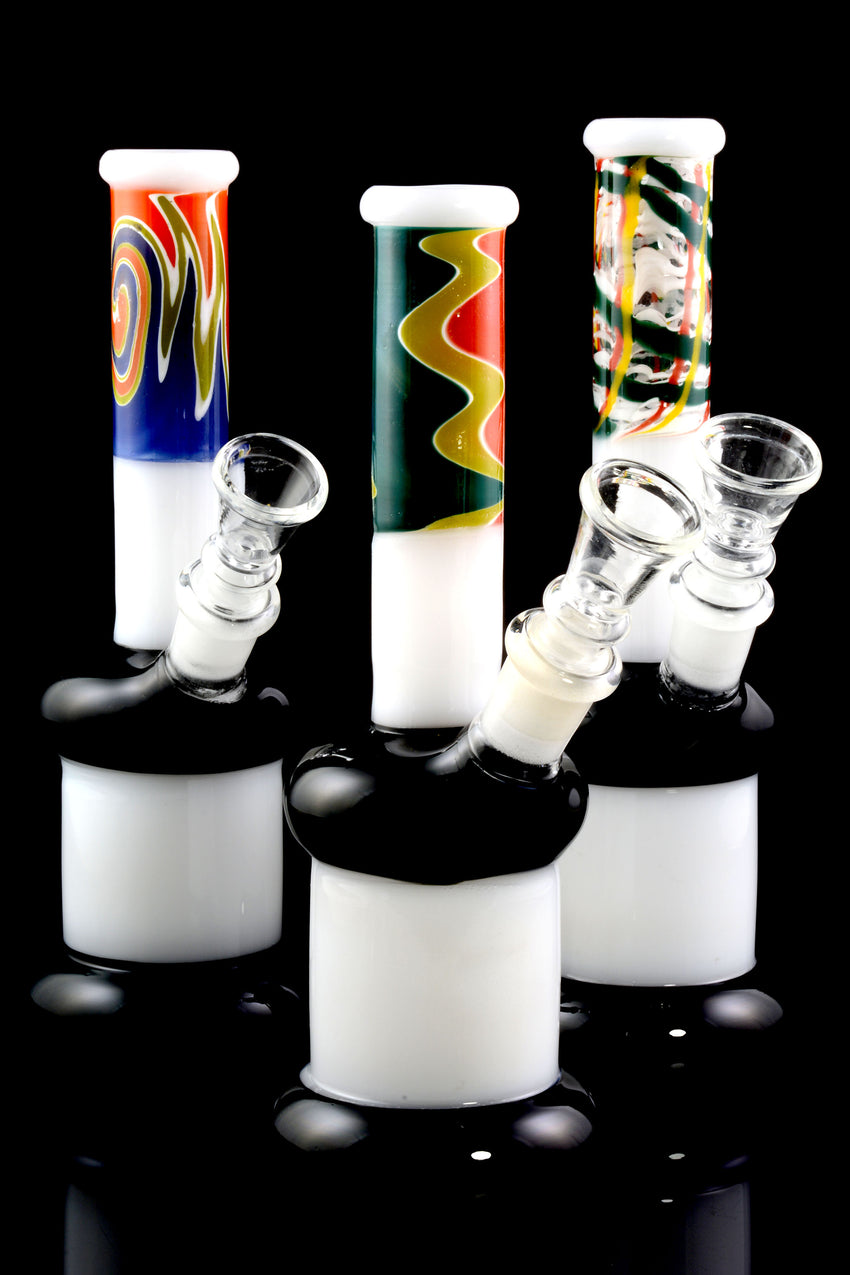 Small GoG Colorful Reverse Pattern Water Pipe - WP1695