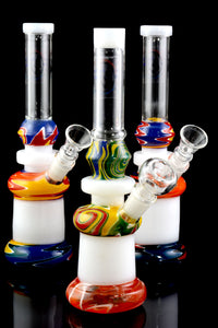 Medium GoG Colorful Reverse Pattern Water Pipe - WP1697