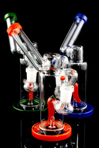 Small Stemless GoG Chili Pepper Sidecar Water Pipe - WP1709