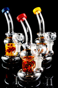 Small Stemless GoG Colorful Reverse Water Pipe - WP1758