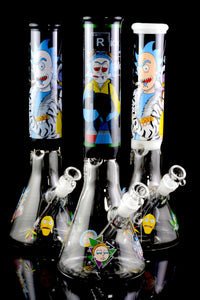 (US Made) Large GoG R&M Beaker Water Pipe - WP1762