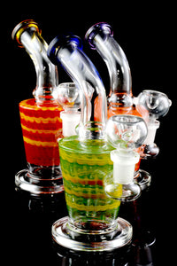 Small Multicolor Stemless GoG Water Pipe - WP1776