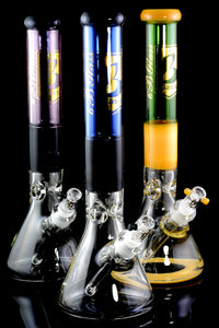 Large Colorful Thick GoG Beaker Water Pipe - WP1785