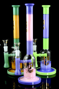 Large Colorful Layers Stemless GoG Water Pipe - WP1799