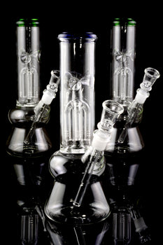 Small GoG Beaker Water Pipe with Tree Perc - WP1854