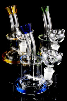 Small Stemless GoG Water Pipe with Inline Perc - WP1855