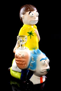 Ceramic Rickyback Dab Rig - WP1939