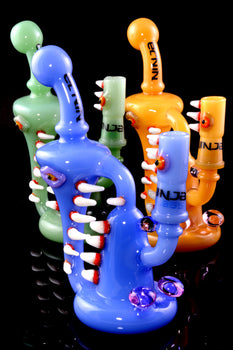 Small GoG Colored Monster Stemless Recycler Concentrate Water Pipe - WP2058