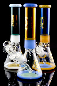 Medium Colorful GoG Beaker Water Pipe - WP2129