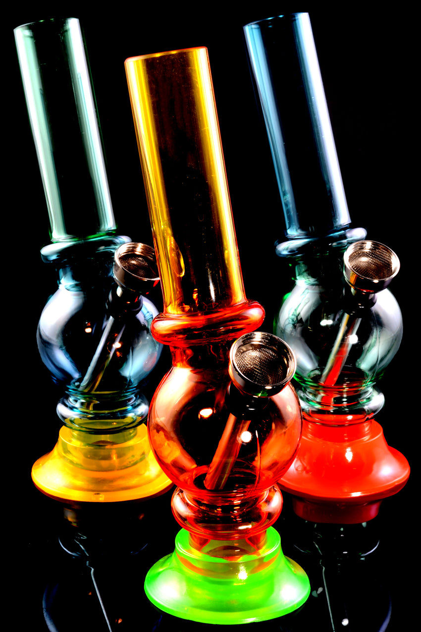 "(Mix) 6"" Multicolor Acrylic Water Pipe - WP2145"