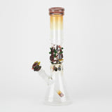 (US Made) Flagship Hootie's Forest Beaker Water Pipe - WP2182