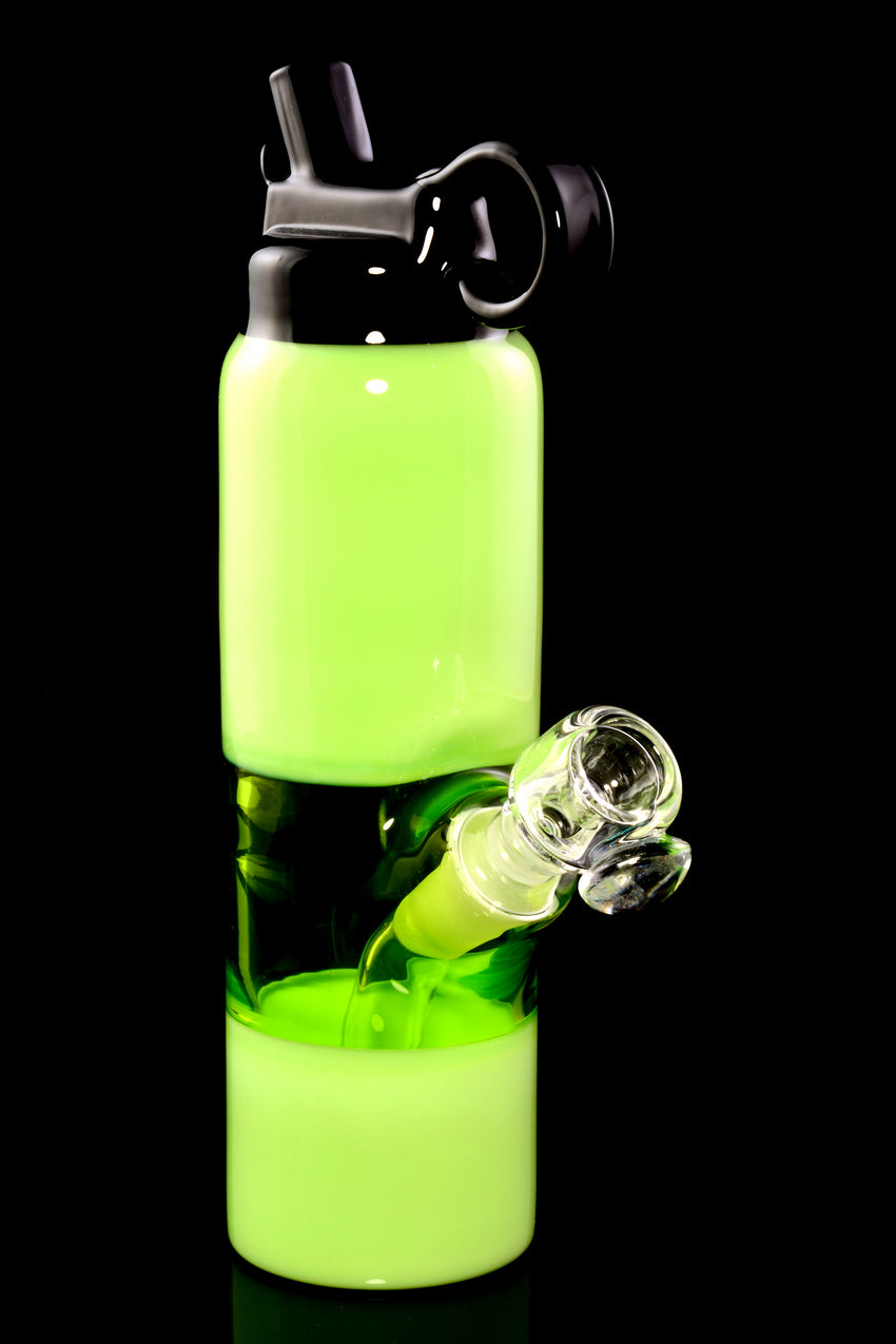(US Made) Lime Green Water Bottle Mini Rig - WP2260
