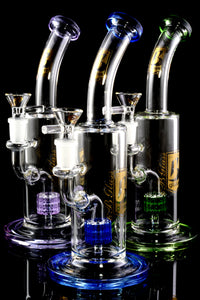 Small Stemless GoG Water Pipe with Matrix Perc - WP2268