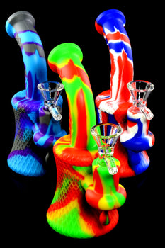 Small Colorful Silicone Water Pipe - WP2283