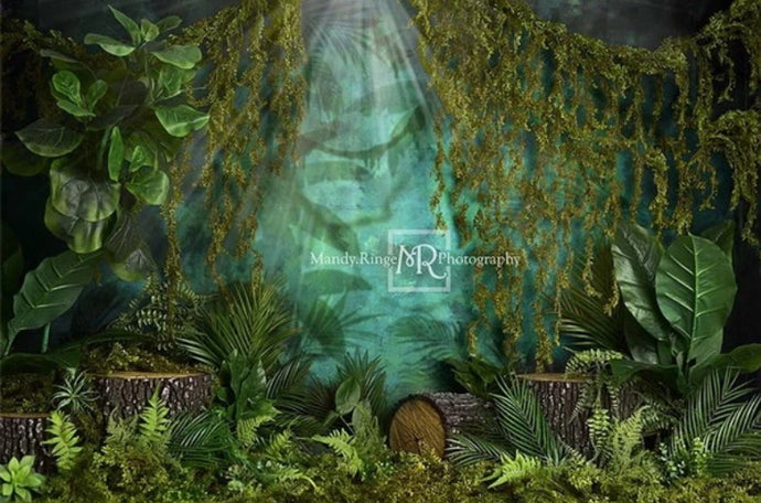 Kate Jungle Backdrop Designed by Mandy Ringe Photography