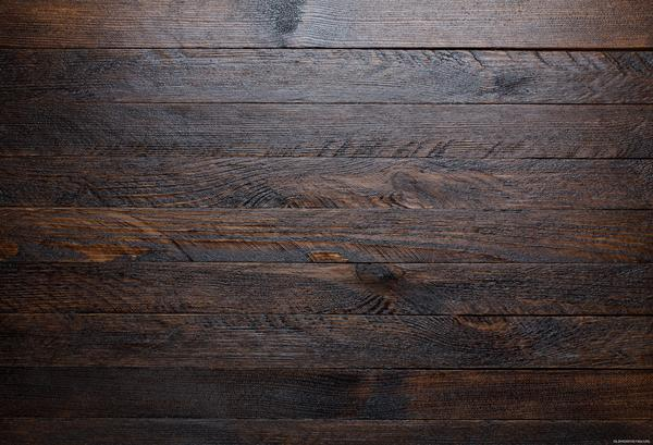 Kate Dark Wood barn Rubber floor mat for photo