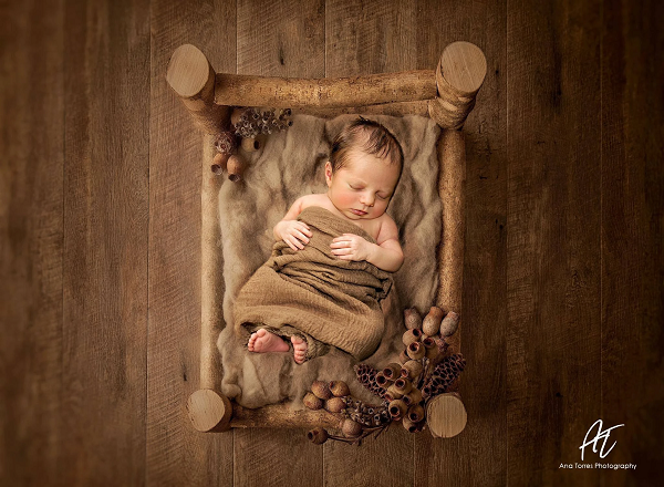 Load image into Gallery viewer, Kate Brown wood rubber floor mat stock in UK - Kate backdrops UK